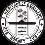 USS Hornet (CVS-12) shield 1960s.png