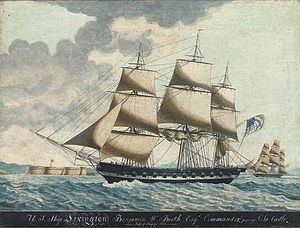 USS Lexington (1825) - USS Lexington