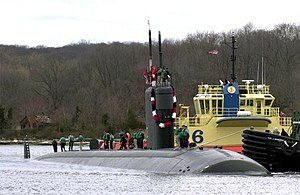 USS San Juan (SSN-751) returns to port)