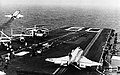 USS Saratoga (CV-60) launches aircraft in 1976.jpg