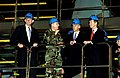 US Air Force Major Ed Thoele discusses C-5 Galaxy maintenance issues in the Isochronal Dock with Mike Castle, Joe Biden, and William Cohen.jpg