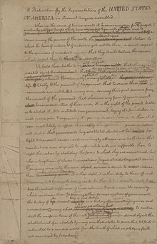 graphic relating to Printable Copy of the Declaration of Independence identify Bodily background of the United Says Declaration of
