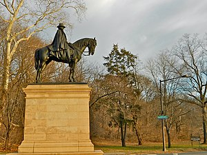 Fairmount Park - Sculpture of General Ulysses S. Grant by Daniel Chester French