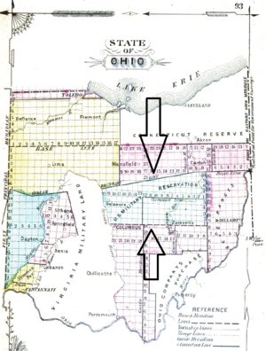 United States Military District - Image: US Military District in Ohio