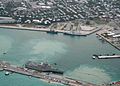 US Navy 100329-N-1481K-315 USS Independence (LCS 2) arrives at Mole Pier at Naval Air Station Key West.jpg