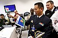 US Navy 101026-N-8863V-728 Nineteen foreign naval attaches toured NSWC Corona, the Navy's newest federal lab.jpg