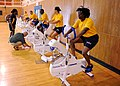 US Navy 110712-N-WJ386-001 Navy Physical Readiness Program officials monitor Sailors participating in a physical readiness beta test.jpg