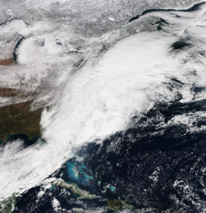 Early January 2017 North American winter storm - Image: US snowstorm 7 Jan 2017