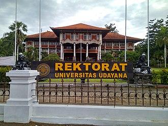 Udayana University - Rector Building