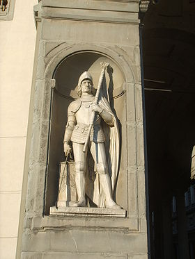 Francesco Ferrucci (statue de la Galerie des Offices).