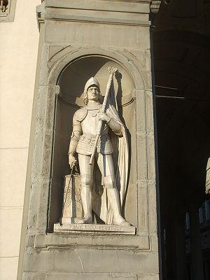 Francesco Ferruccio - Statue of Francesco Ferruccio at the  Uffizi.