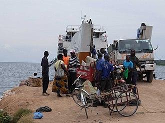 Ukerewe Island - Image: Ukerewe Mwanza Ferry