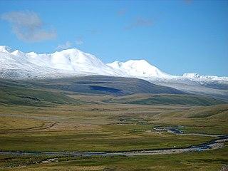 Plateu in Altai Mountains