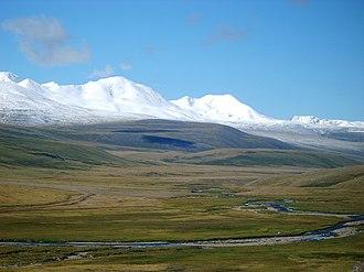 Tavan Bogd - View of Tavan Bogd from Russian Altay