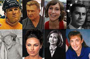 English: Collage of famous Ukrainian American....