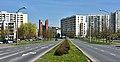Ulica Indiry Gandhi w Warszawie przy ul. Pileckiego 2019.jpg