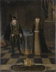 Ulrik III, 1527-1603, hertig av Mecklenburg-Schwerin Elisabet, 1524-1586, prinsessa av Danmark