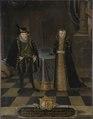 Ulrik III, 1527-1603, hertig av Mecklenburg-Schwerin Elisabet, 1524-1586, prinsessa av Danmark - Nationalmuseum - 15278.tif