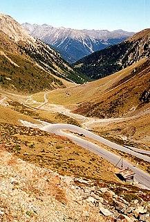 Umbrail Pass mountain pass