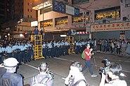 Umbrella movement Mong Kok clearance 30