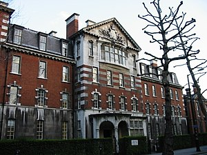 Queen Alexandra's Military Hospital - Entrance at 20 John Islip Street