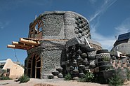 Unfinished Earthship 2