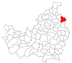 Location of Unguraș
