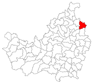 Unguraș Commune in Cluj, Romania