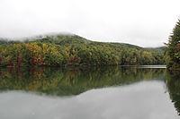 Unicoi State Park lake, October 2014 1