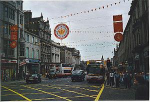 Union Street, Aberdeen - Union Street looking east
