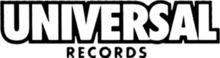 Description de l'image Universal Records logo.png.