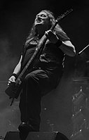 Unleashed, Johnny Hedlund at Party.San Metal Open Air 2013 02.jpg