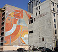 Untitled Urban Wall mural from Delaware St - April 2014.jpg