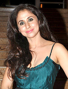 Urmila Matondkar at the launch of Jai Maharashtra channel.jpg