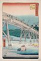 Utagawa Hiroshige - Yahagi Bridge on the Yahagi River near Okazaki.jpg