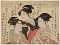 Utamaro (1792–1793) Three Beauties—Okita, Ohisa, and Toyohina.jpg
