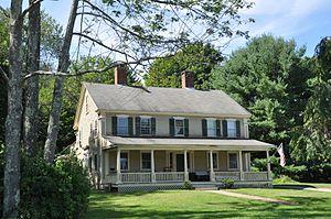 Zadock Taft House - Image: Uxbridge MA Zadock Taft House