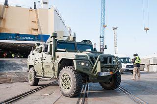 URO VAMTAC Multi-purpose armored vehicle