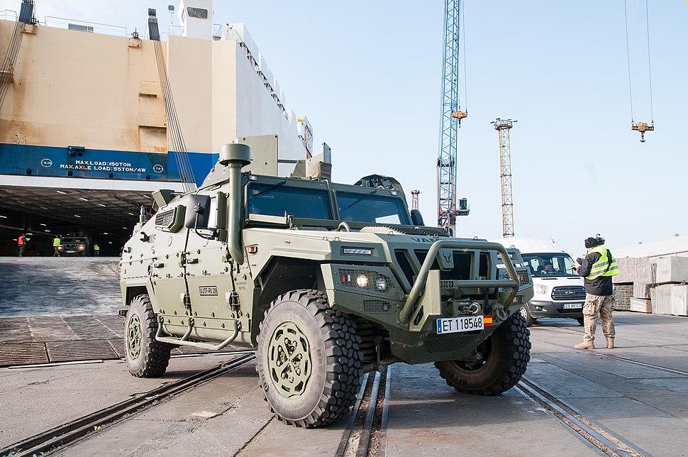VAMTAC ST5 blindado Ejército español