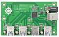 VIA Labs VL811 USB 3.0 4-Port Hub - Board Top (6119775186).jpg