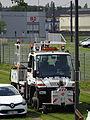 Valenciennes & Anzin - Déraillement de la rame de tramway n° 17 à la sortie du dépôt de Saint-Waast le 11 avril 2014 (038).JPG