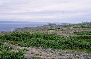 fjord in Finnmark county, Norway