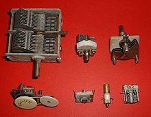Variable capacitor - Wikipedia