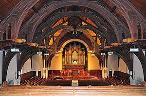 Vassar Chapel - Vassar Chapel Interior