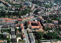 Aerial photography of Vasvár