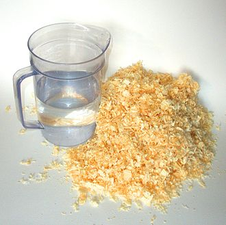 Pykrete - Pykrete is made of 14 percent sawdust and 86 percent water by mass.