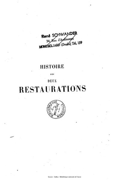File:Vaulabelle - Histoire des deux restaurations jusqu'à l'avènement de Louis-Philippe, tome 6.djvu