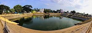 Veerampattinam - Image: Veerampattinam temple tank