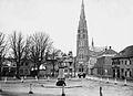 Veghel Markt oude situatie ca. 1910.jpg