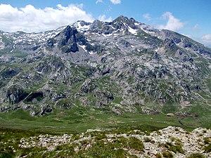 Korab (mountain) - Image: Velky Korab 2011
